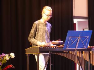 Jelmer Mollema xylofoan - solistekonkoers 7-4-18