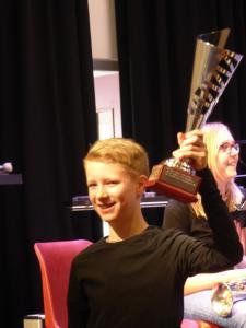 Jetze Klaas Dijkstra winnaar Eenhoornbokaal - solistekonkoers 7-4-18