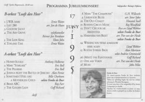 Jubileum1995_programma