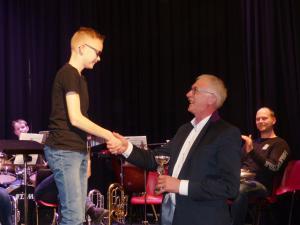 Wietse Mollema earste priis studearjend A - solistekonkoers 7-4-18
